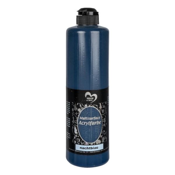 """Acrylfarbe """"Multisurface"""", nachtblau, 500ml"""