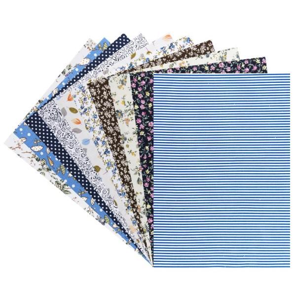"""Stoffe """"Vielfalt 5"""", verschiedene Designs, selbstklebend, DIN A4, 10 Bogen"""