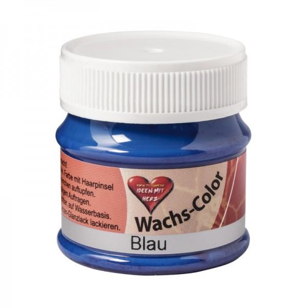 Wachs-Color 50 ml, Blau