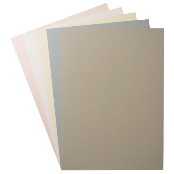 """Design-Karton, """"Batik"""", Din A4, 5 Farben, 10 Bogen"""