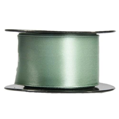 Satin-Schleifenband mit Drahtkante, 39mm x 10m, mint