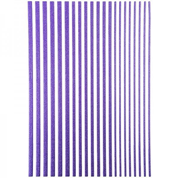 "3-D Sticker-Bordüren ""Deluxe"", 28,5cm, verschiedene Breiten, lavendel"