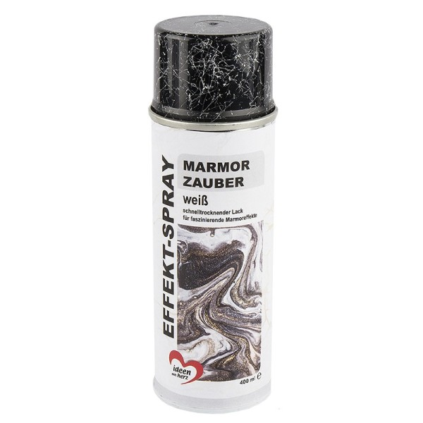 Effekt-Spray, Marmor Zauber, weiß, 400ml