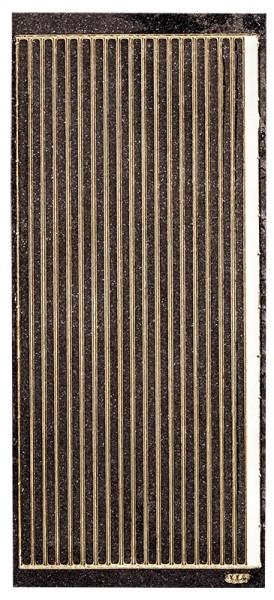 Microglitter-Sticker, Linien, 5mm, anthrazit