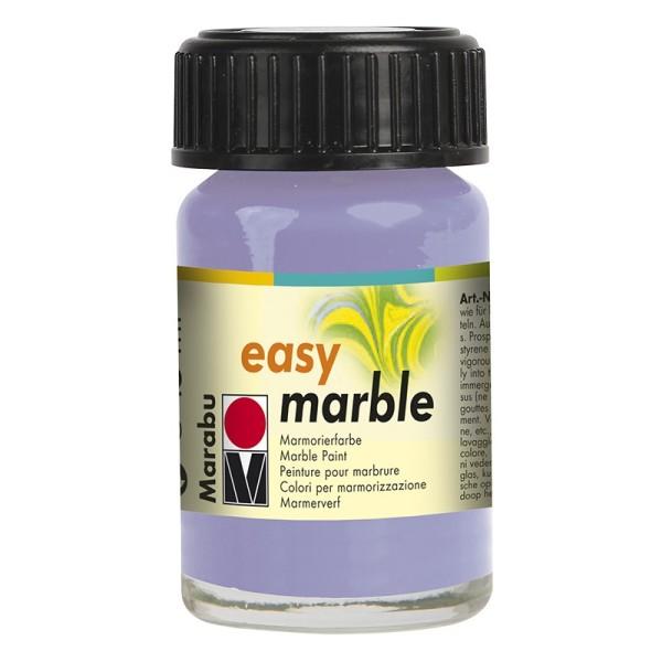 Marmorierfarbe, Marabu easy marble, 15 ml, lavendel