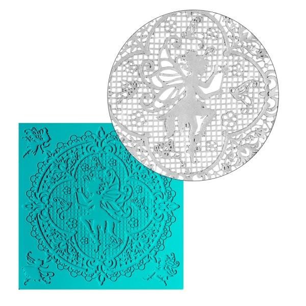 Silikon-Dekormatte, Design 26, 21,2cm x 21,6cm x 0,2cm