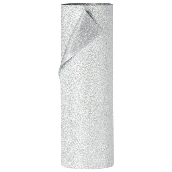 Diamant-Dekoband, 12 x 250 cm, silber