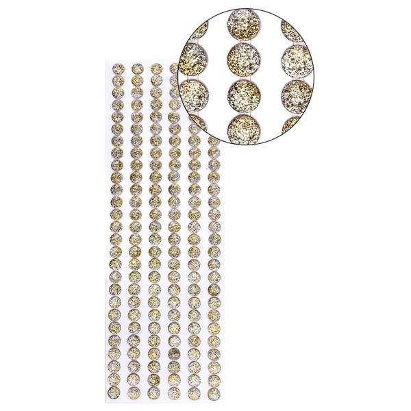 "Premium-Schmuck-Bordüren ""Galaxie"", selbstklebend, 29cm, silber/gold"
