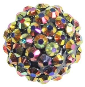 Kristall-Perlen, Ø18 mm, 5 Stück, regenbogen-irisierend
