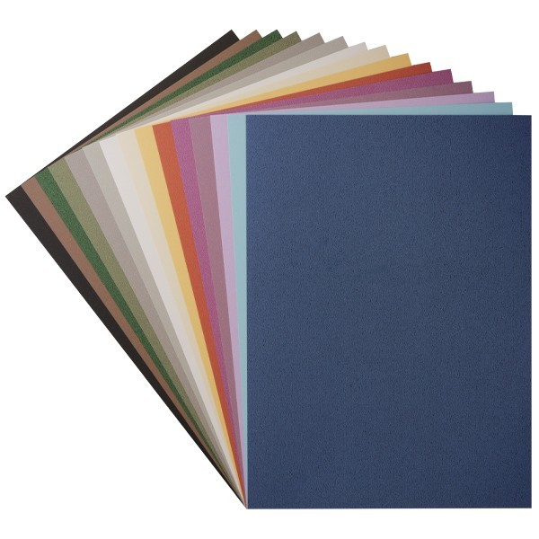 "Design-Karton, ""Island"", Din A4, 15 Farben, 30 Bogen"