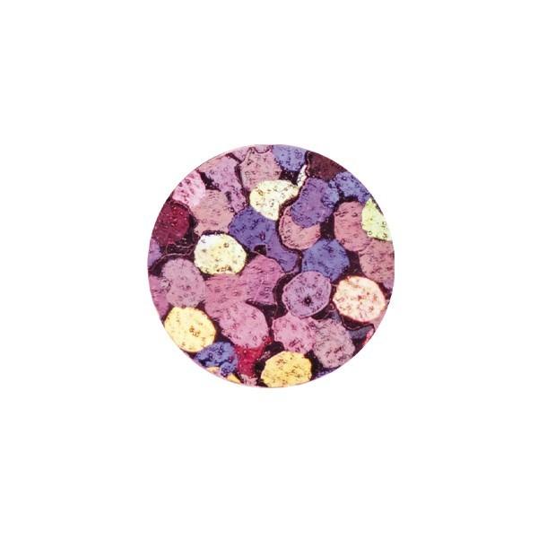 Bügel-Pailletten, 500 Stück, Ø5mm, rosa