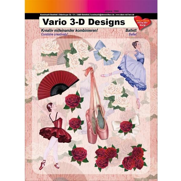 Vario 3-D Design, Ballett