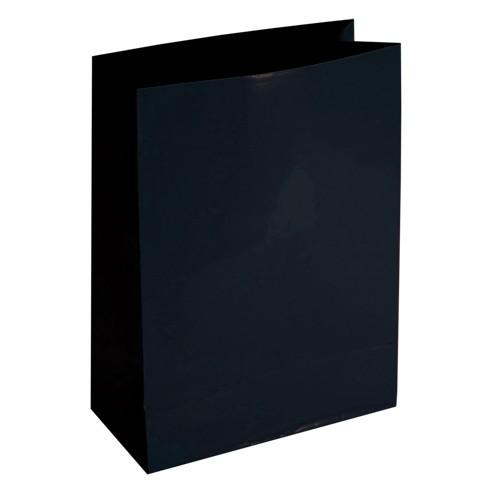 Mitteltasche, klein, 16,2 x 12,2 cm, 10 Stück, schwarz