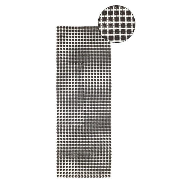 Schmuck-Netz, selbstklebend, 12 x 30 cm, silber, Design 12