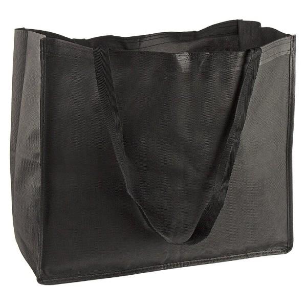Shopping-Tasche, 47,5cm x 40,5cm, schwarz