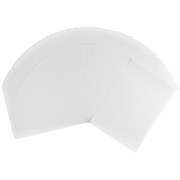 Transparentpapiere, DIN A4, bedruckbar, weiß, 100 g/m², 100 Stück