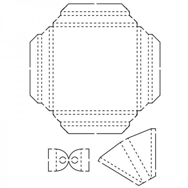 Design-Schablone, Bilderrahmen, DIN A3