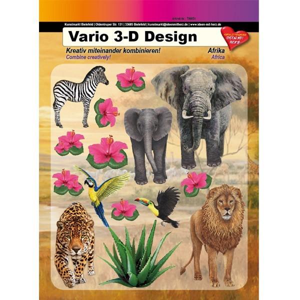 Vario 3-D Design, Afrika