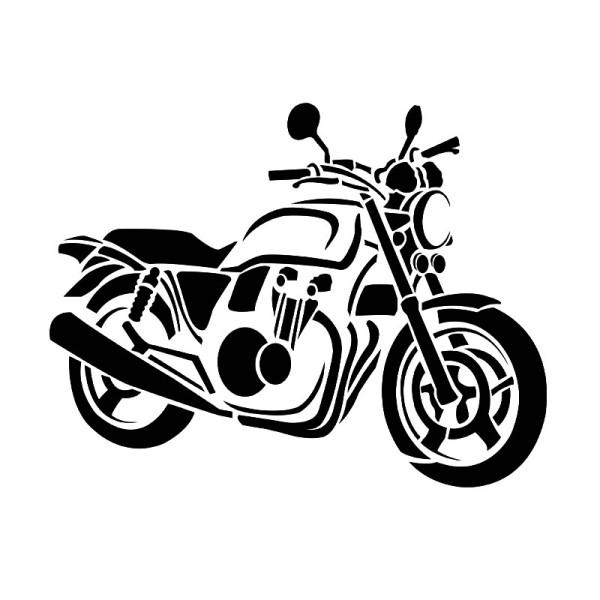 Laser-Kunststoff-Schablone, DIN A4, Bike
