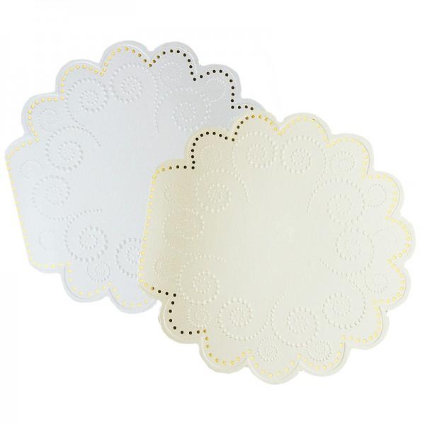 "Deluxe-Grußkarten ""Ornament"", 16x16cm, 10 Stück, inkl. Umschläge"