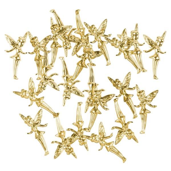 Messing Ornamente, Elfe, 20 Stück