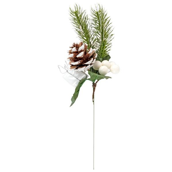 Deko-Tannenzweig, Geschenk, 20cm lang
