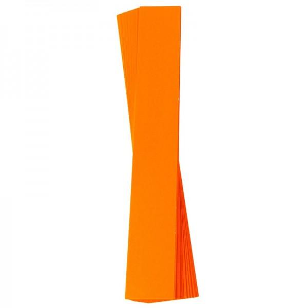 Papierstreifen, 4 x 30 cm, 120 g/m², orange, 50 Stück
