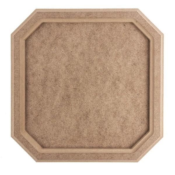 Kreativ-Rahmen, quadratisch, 27cm x 27cm, mit Aufhängevorrichtung