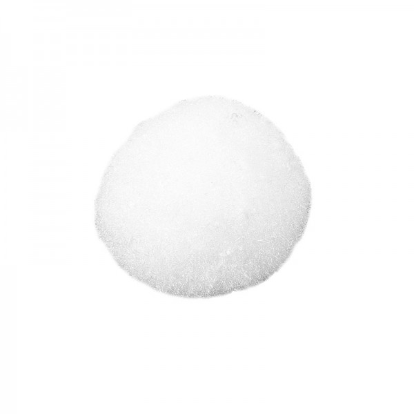 Deko-Pompons, Ø 2cm, weiß, 70 Stück