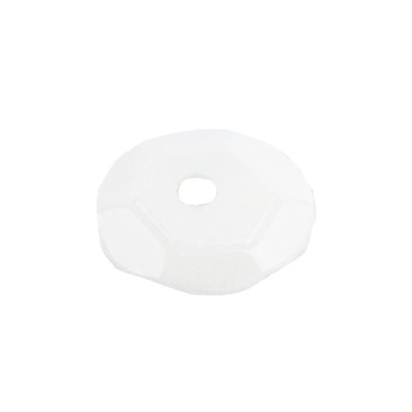 Pailletten, 15g, Ø 6mm, weiß