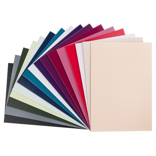 Grußkarten, B6, 16 Farben