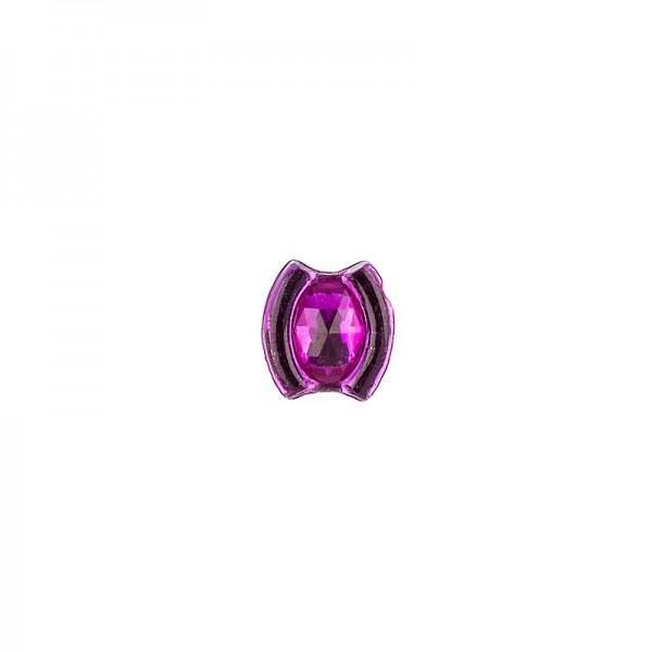 Ornament-Glitzersteine, 50 Stück, Design 10, pink