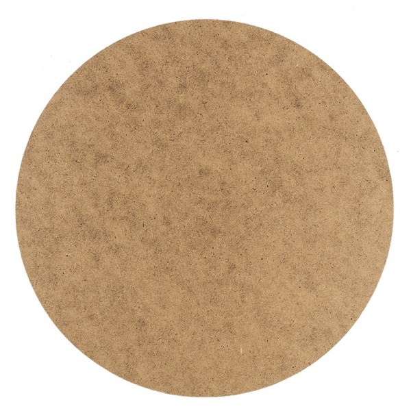 Kreativ-Platte, rund, Ø 25cm, Stärke: 3mm