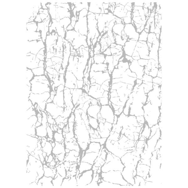 Metallic-Bügeltransfer, Hintergrund, Marmor, 25cm x 34cm, silber glänzend
