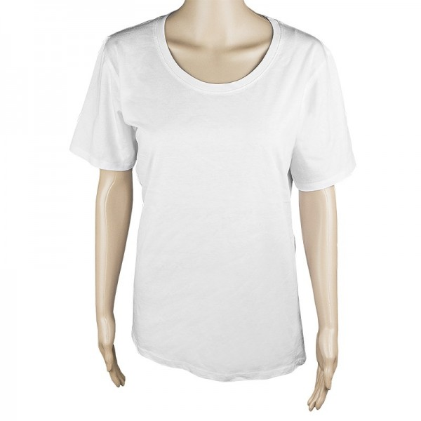 Damen T-Shirt, weiß, Größe S