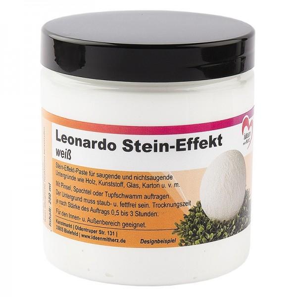 Leonardo Stein-Effekt, weiß, 250 ml