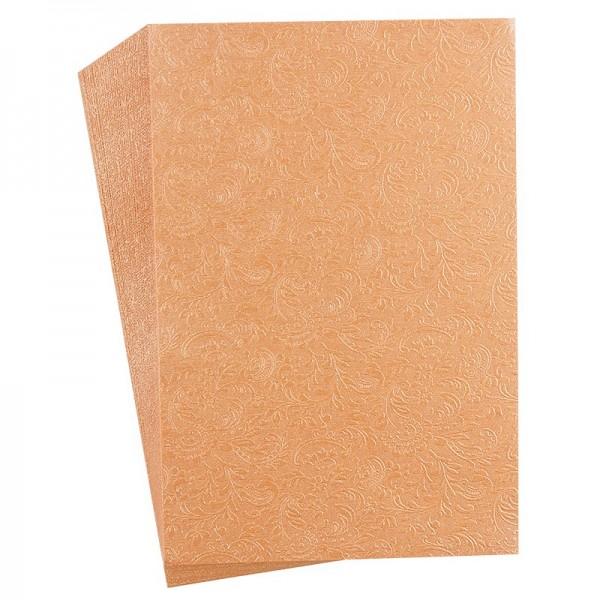 """Faltpapiere """"Nova 11"""", 10x15cm, 50 Stück, apricot"""