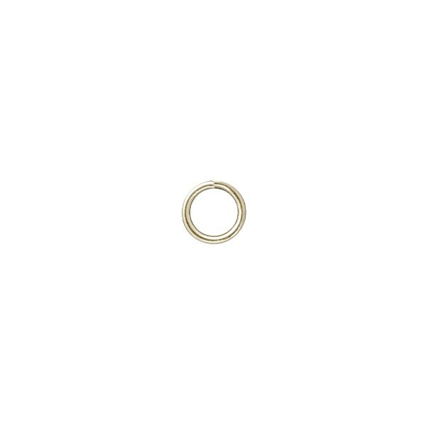 Verbindungsringe, Ø 5 mm, goldfarben, 50 Stück