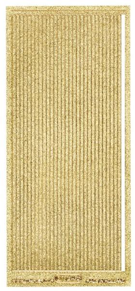 Microglitter-Sticker, Linien, 3,5mm, gold