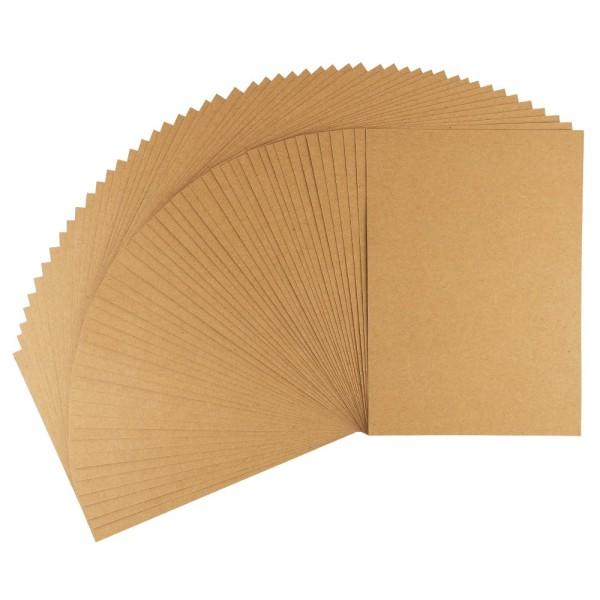 Kraftpapier, DIN A3, 220 g/m², 50 Bogen