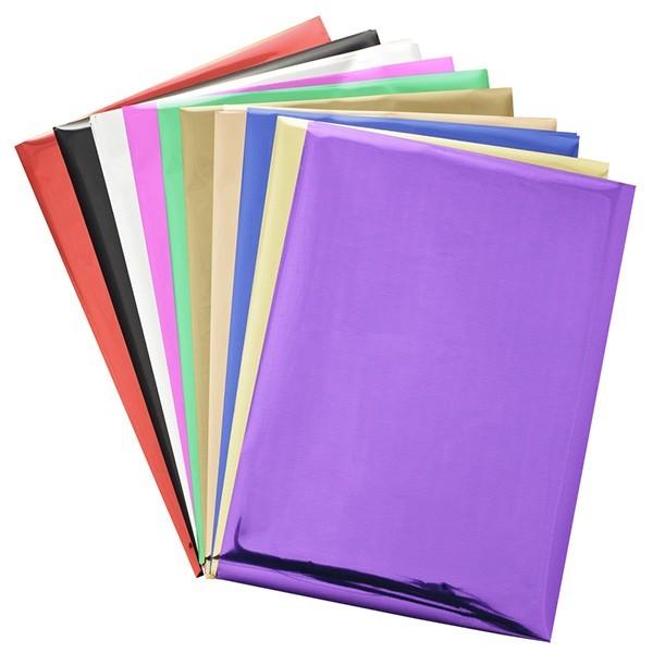 Abdrück-Folie, DIN A5, 10 Farben, 40 Bogen