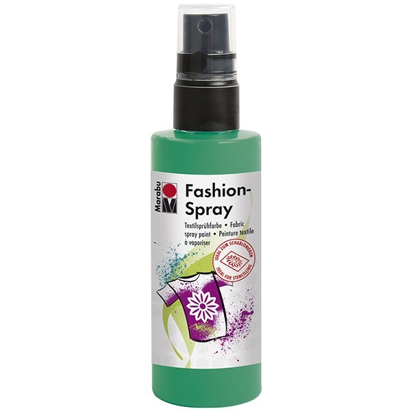 Marabu Fashion-Spray/Textil-Sprühfarbe, 100ml, minze