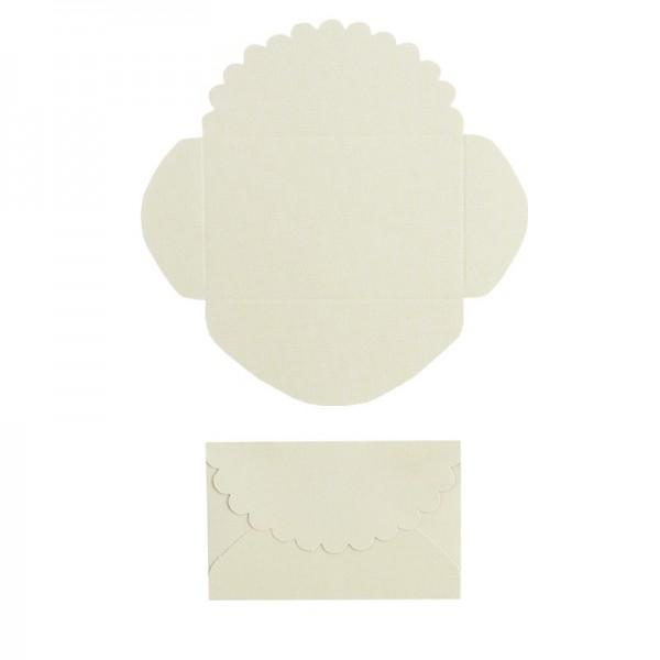 Mini-Umschläge, 4,2 x 6,6 cm, 100 Stück, hellgrün
