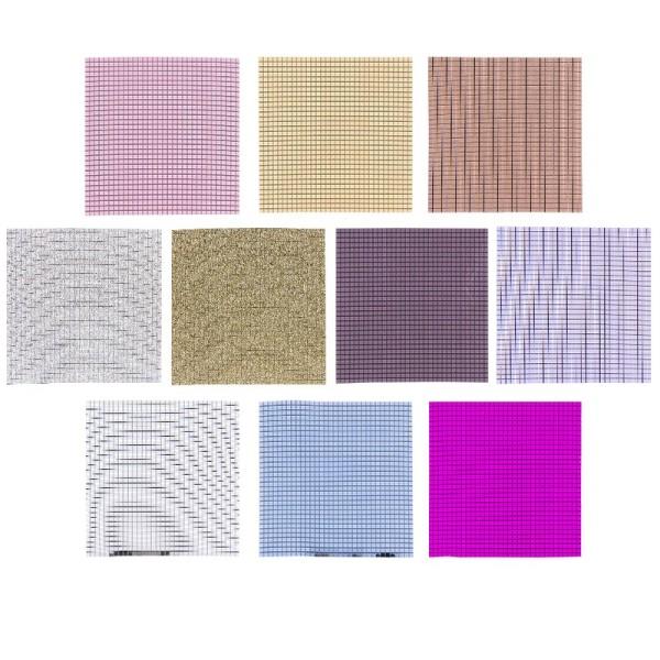 Mosaikplatten, 10 Stück