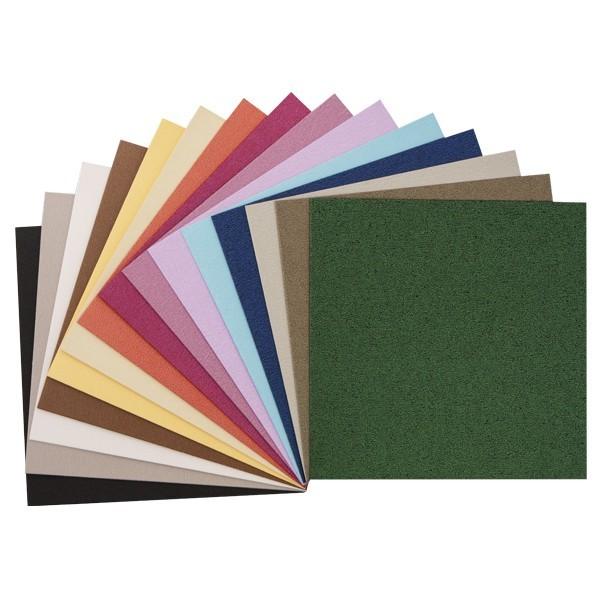 """30er Grußkarten-Set, """"Island"""", 13x13 cm, 15 Farben"""