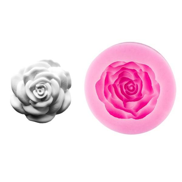 Silikon-Form, Rose, 8cm x 3cm