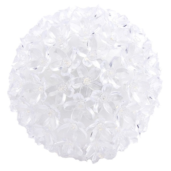 LED-Leuchtkugel Kirschblüte, Ø 14cm, warmweiß, mit 100 LED-Lämpchen