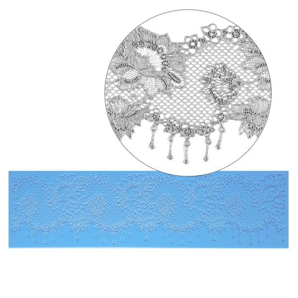 Silikon-Dekormatte, Design 4, 38,3cm x 11cm x 0,2cm
