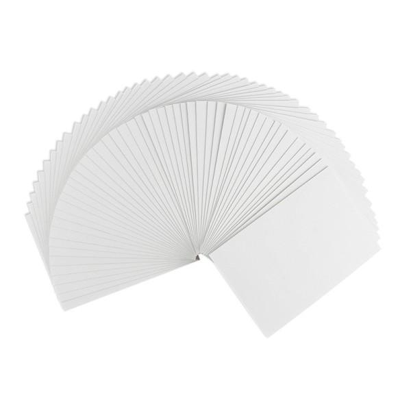 Grußkarten, C6 (10,5cm x 14,8cm), 230 g/m², weiß, 50 Stück