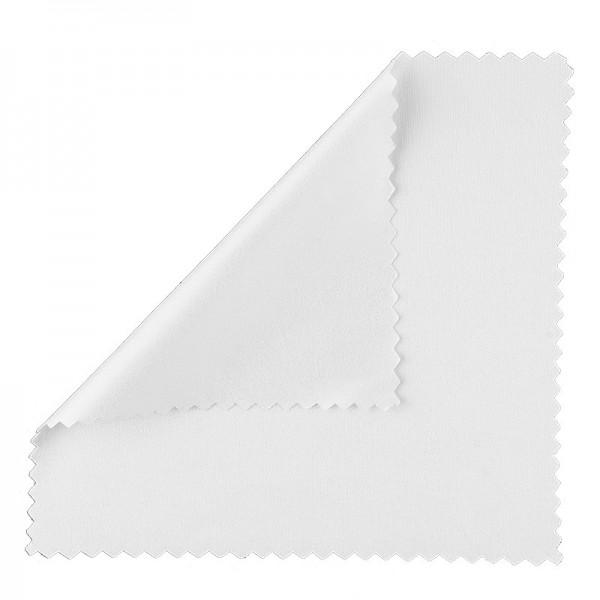 Microfasertücher, 15cm x 15cm, weiß, 5 Stück